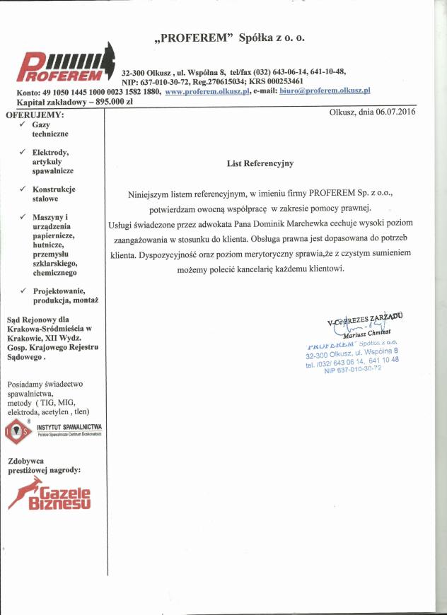 Referencje_Proferem